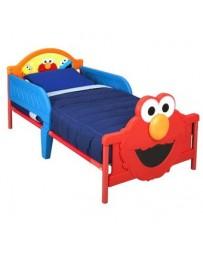 Cama cuna niño plaza semamo Elmo y Come galletas Delta Childrens - Envío Gratuito