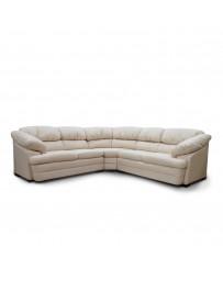 Sala Modular Kimmy Bonded Leather Color Marfil - Envío Gratuito