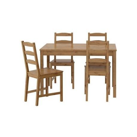 IKEA mesa y 4 sillas madera de pino sólida cocina comedor conjunto