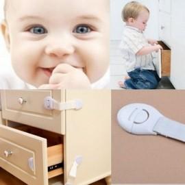 ER Infantil del bebé de los niños del niño de Seguridad Refrigerador cajón puerta del armario Armario Locks - Envío Gratuito