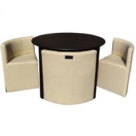 Antecomedor Lounge Minimalista para 4 personas Tao 4TD - Envío Gratuito