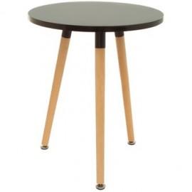 Mesa Auxiliar Modern Furniture Emma Side-Negro - Envío Gratuito