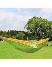 Hamaca portátil paracaídas de tela de nylon para dos acampa persona amante de los viajes de la familia al aire libre - Envío Gra