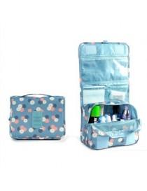 Pixnor Portable Colgante A Prueba De Agua De Lavado Neceser Bolsa De Viaje Cosméticos Bolsa Bolsa Organizador (azul Cielo) - Env