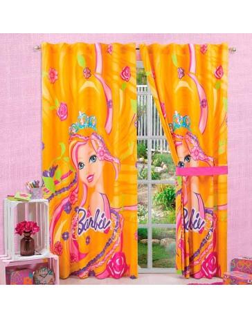 Cortina Decorativa Barbie Cabello Magico - Envío Gratuito