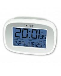 Reloj Despertador Timco Mod. Xg6649C - Envío Gratuito