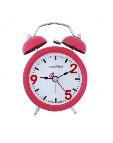 Reloj Despertador Nine To Five Clocks Dbll01Rj - Envío Gratuito