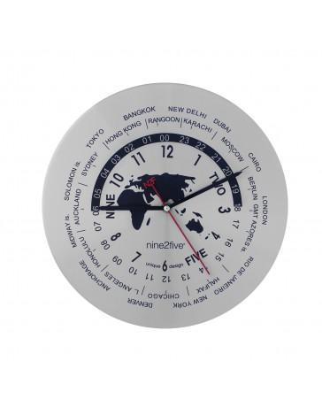 Reloj de Pared Nine To Five Clocks Pcls01Sl - Envío Gratuito