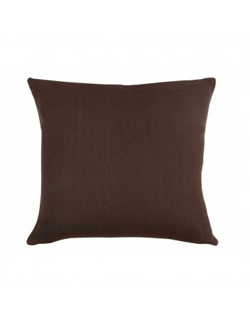 Cojín Decorativo Herringbone Chocolate 45X45 - Envío Gratuito