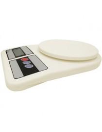Bascula Digital Para Cocina Precisa 1394 1g Hasta 5kg -Beige