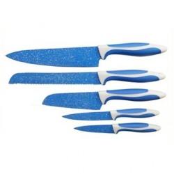 Set de 5 Cuchillos FLAVORSTONE Mod. 3332392 - Azul - Envío Gratuito