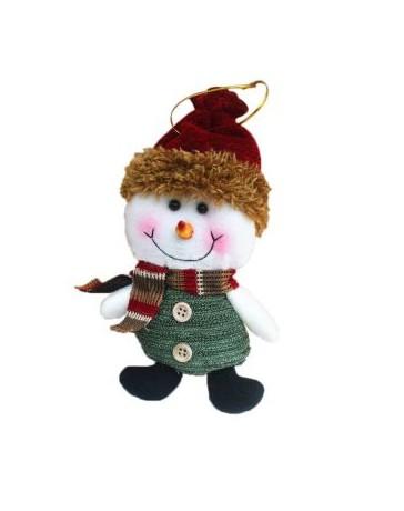 Generico New Fabric Hanging Christmas Decorations Doll Elk Xmas Tree Holiday Party snowman - Envío Gratuito