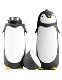 Termo Taza En Forma De Pinguino Negro - Envío Gratuito
