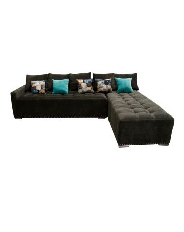 Sala Esquinera Omega 2 Piezas Fabou Muebles, Sofa cama - Envío Gratuito