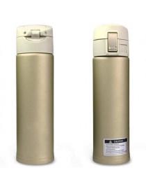 Termo Dosificador De Acero Inoxidable 500 Ml Dorado - Envío Gratuito
