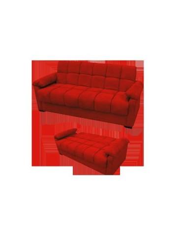 Sofa Cama Futton Candice-Rojo - Envío Gratuito