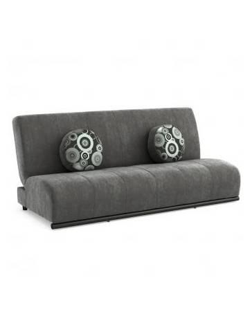 Sofá cama Gatti tapizado en velvet - Envío Gratuito