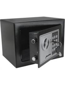 Caja Fuerte Electrónica De Seguridad Mitzu BCF-2217 Codigo Digital Y Llave - Envío Gratuito