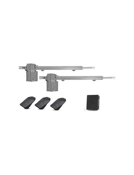 Kit Automatizador para puerta piston standard Ppa- Plata - Envío Gratuito