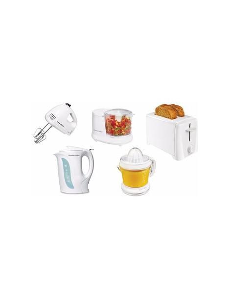 Paquete Batidora de mano, tostador, Hervidor de agua, exprimidor de jugo, procesador de alimentos 1.5 tazas - Envío Gratuito