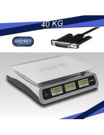 Bascula Digital 40K Marca Dibatec Mod. Venta II