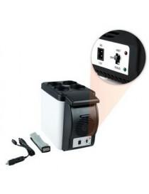 Mini Refri Portátil REFRIGERADOR / CALENTADOR By Ofertas Creativas Refr-01 Blanco-Gris - Envío Gratuito