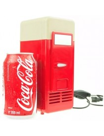 Mini Refrigerador Usb Pc O Laptop Calienta Y Enfría Bebidas