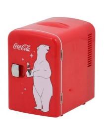 Refrigerador Personal de Coca-Cola, Koolatron, KWC4-Rojo - Envío Gratuito