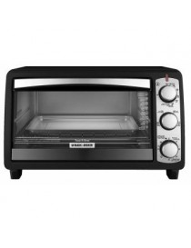 HORNO TOSTADOR BLACK AND DECKER TO1940BD 6 REBANADAS 30M - Envío Gratuito