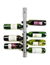 Cava Rack Porta Botellas De Vino Con Soporte A Pared