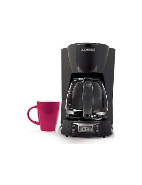 CAFETERA BLACK DECKER BCM1410B PROGRAMABLE - Envío Gratuito