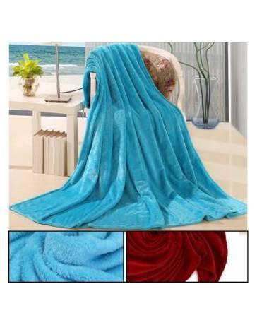 Gruesa lana Mantas de Sofá cama Cobijas Calientes para dormir Hogar Dormitorio franela - Envío Gratuito
