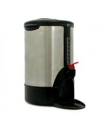 Cafetera Euroline Acero Inox. 40 Tazas-Negro - Envío Gratuito