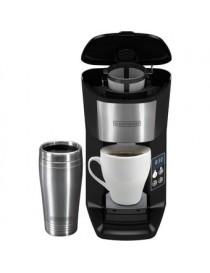 Cafetera Programable De Una Taza Para Llevar CM625B Black & Decker - Negro - Envío Gratuito
