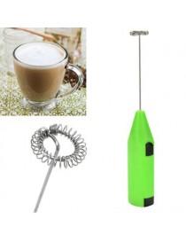 Mini Mezclador Eléctrico Agitador De Cocina Leche Frother Café Huevo(verde) - Envío Gratuito