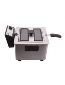 Freidora Electrica Turmix 8 Litros Acero Inoxidable Frinox Cocina - Envío Gratuito