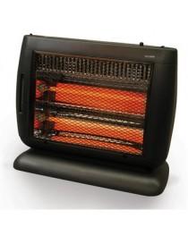 Calefactor de Cuarzo Heat Wave HQ1261U 2 Niveles – Gris - Envío Gratuito