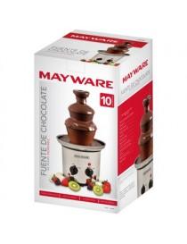 Fuente de Chocolate Mayware L-CF672B Electrica 3 Niveles Nuevo-Acero