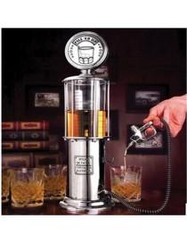 1000cc Silver Liquor Pump Estación de Gasolina Cerveza Alcohol Líquido Agua Jugo Vino - Envío Gratuito
