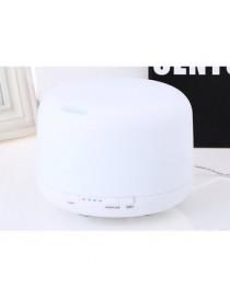 difusor del aroma Color Changing Light 500ML Aroma Diffuser- blanco US PLUG - Envío Gratuito