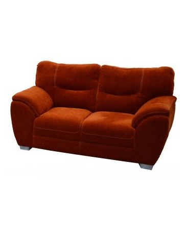 Love Seat Moderno Pekin Fabou Muebles - Brick - Envío Gratuito