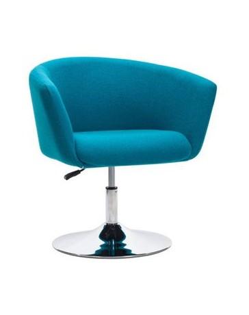 Silla ocasional marca Zuo modelo Umea - azul / 500342 - Envío Gratuito