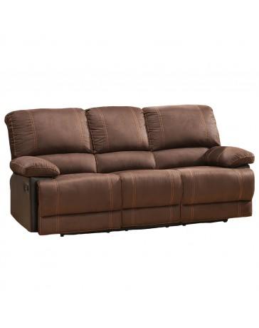 Sofa Quartz 2 Reclinables Lotus - Envío Gratuito