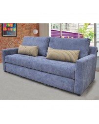 Sofa Cama Vercelli Azul - Envío Gratuito