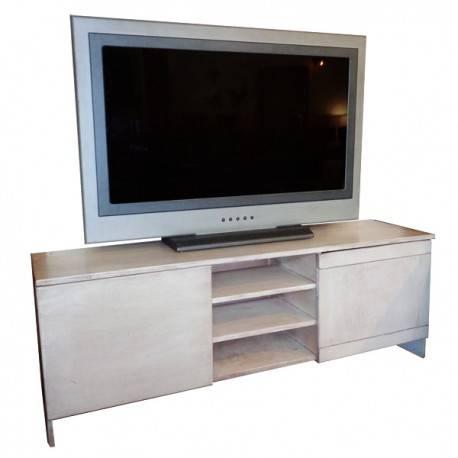 Mesa para TV Azalea-Beige Patinado Vintague - Envío Gratuito