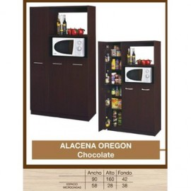 Alacena Bébé Chocolat Oregon-Chocolate - Envío Gratuito