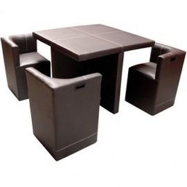 Antecomedor Lounge Minimalista para 4 personas - Envío Gratuito
