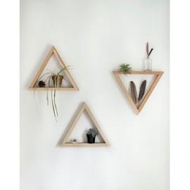 Repisas Triangulares-Café - Envío Gratuito