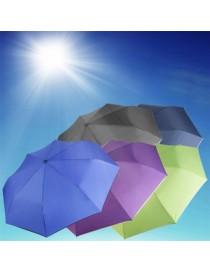 ER paraguas de personalidad puros (tres veces) de color azul marino-Azul Real - Envío Gratuito
