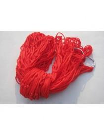 2 Pack Outdoor Color Malla Hamaca (color. Rojo) - Envío Gratuito
